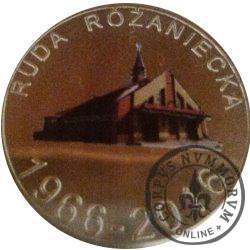 Ruda Różaniecka 50-lecie parafii św. Antoniego Padewskiego (golden nordic + tampondruk)