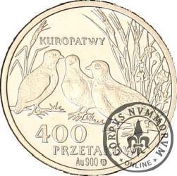 400 przetaków - Kuropatwy