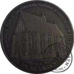 1 talar sanocki / Kościół św. Michała w Sanoku (VII emisja - mosiądz oksydowany)