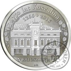 ARGENT - Koszalin / Ratusz XIX w. (III emisja)
