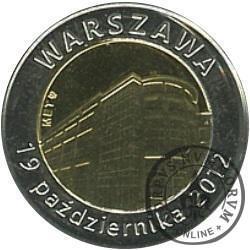 100 WARSZAWA (19 października 2012)