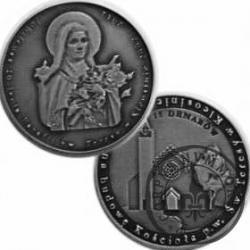 15 denarów - Parafia p.w. Św. Teresy w Kleosinie (alpaka oksydowana)