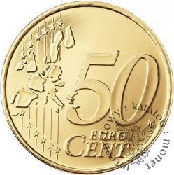 50 euro centów - Benedykt XVI