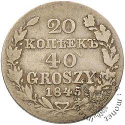 20 kopiejek - 40 groszy