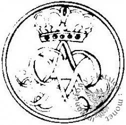 moneta próbna - Au