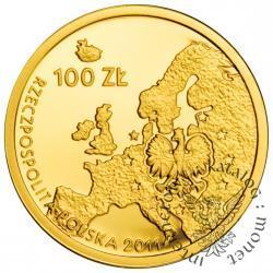 100 złotych - przewodnictwo Polski w UE