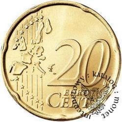 20 euro centów - Jan Paweł II