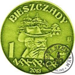 1 zakapior 2013 / CISNA WILCZY JAR (mosiądz)