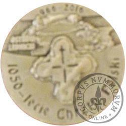 Ostrów Lednicki (1050-lecie Chrztu Polski)