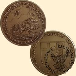 10 miedziaków - Kobylin-Borzymy / Biesiada miodowa (mosiądz patynowany)