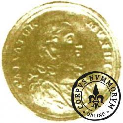 dwudukat gdański - głowa Chrystusa (Au)