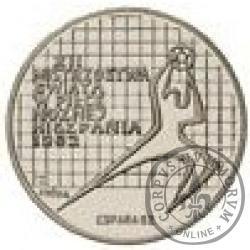200 złotych - XII Mistrzostwa Świata w Piłce Nożnej Hiszpania 1982 - bramkarz z napisem