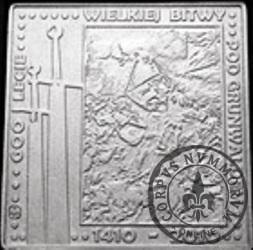 50 bitewnych / Grunwald (klipa - aluminium)