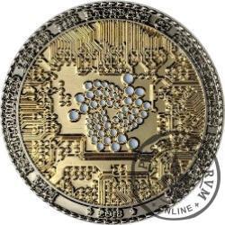 IOTA (MIOTA) / (stal selektywnie platerowana złotem)