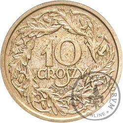 10 groszy - nikiel