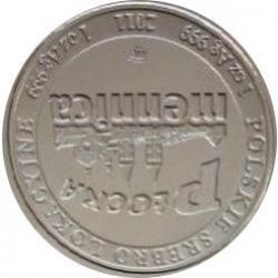 1 srebrny żubr (Ag - wersja kolekcjonerska)