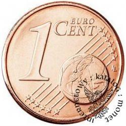 1 euro cent - Benedykt XVI