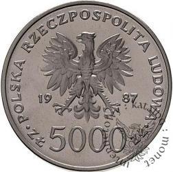 5000 złotych - Papież Jan Paweł II