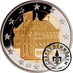 2 euro (J) - ratusz w Bremie
