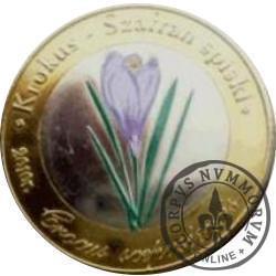 10 dutków zakopiańskich - Krokus spiski (IV emisja - bimetal z tampondrukiem)