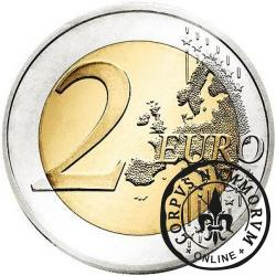 2 euro (D) - 10 Lat Euro w Obiegu