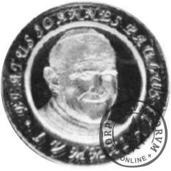 12 denarów SOKÓŁKA (alpaka) / BEATYFIKACJA JANA PAWŁA II