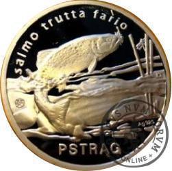 100 złotych rybek (Ag.925) - II emisja / PSTRĄG