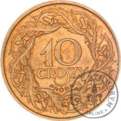 10 groszy - brąz