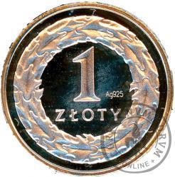 1 złoty - miniatura - Ag