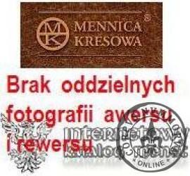10 miedziaków miejskich - Białystok / Kościół Farny (mosiądz posrebrzany)