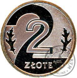 2 złote - miniatura - Ag