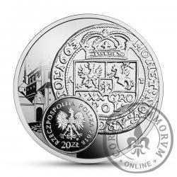 20 złotych - boratynka, tymf Jana Kazimierza