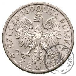 2 złote - Polonia (głowa kobiety)
