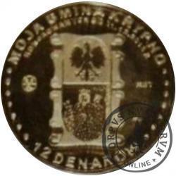 12 denarów KRYPNO (mosiądz patynowany) / BEATYFIKACJA JANA PAWŁA II