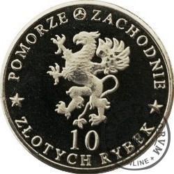 10 złotych rybek - Pomorze Zachodnie / Kołobrzeg ~ Skalar (I emisja - alpaka)