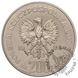 200 złotych - Mieszko I półpostać