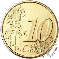 10 euro centów - Sede Vacante