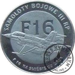 2 polskie skrzydła / F16 (stal szlachetna)