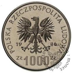 1000 złotych - Łokietek półpostać
