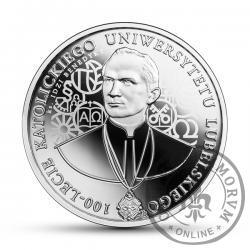 10 złotych - 100-lecie Katolickiego Uniwersytetu Lubelskiego
