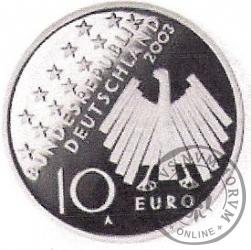 10 euro -  50 - lecie powstania ludowego 17 czerwca 1953 roku