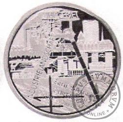10 euro -  Krajobraz przemysłowy Załębia Ruhry