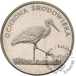 100 złotych - bocian