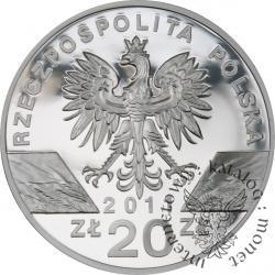 20 złotych - borsuk