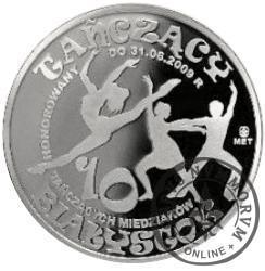 10 tańczących miedziaków (mosiądz srebrzony oksydowany - typ I)