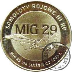 2 polskie skrzydła / MIG 29 (mosiądz)
