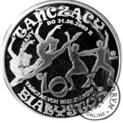 10 tańczących miedziaków (mosiądz srebrzony oksydowany - typ II)