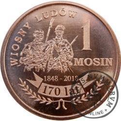 1 mosin (Cu) - 170 lat Wiosny Ludów