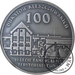 100 dukatów kleszczowskich (srebro Ag.925)