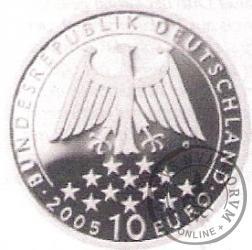 10 euro -   200 rocznica śmierci Fryderyka Schillera
